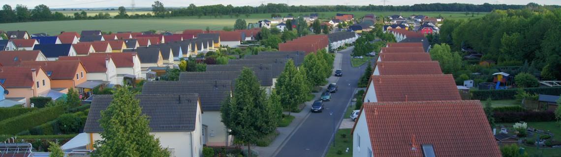 """Erschließung Wohngebiet """"Rietzschketal"""" in Rötha"""