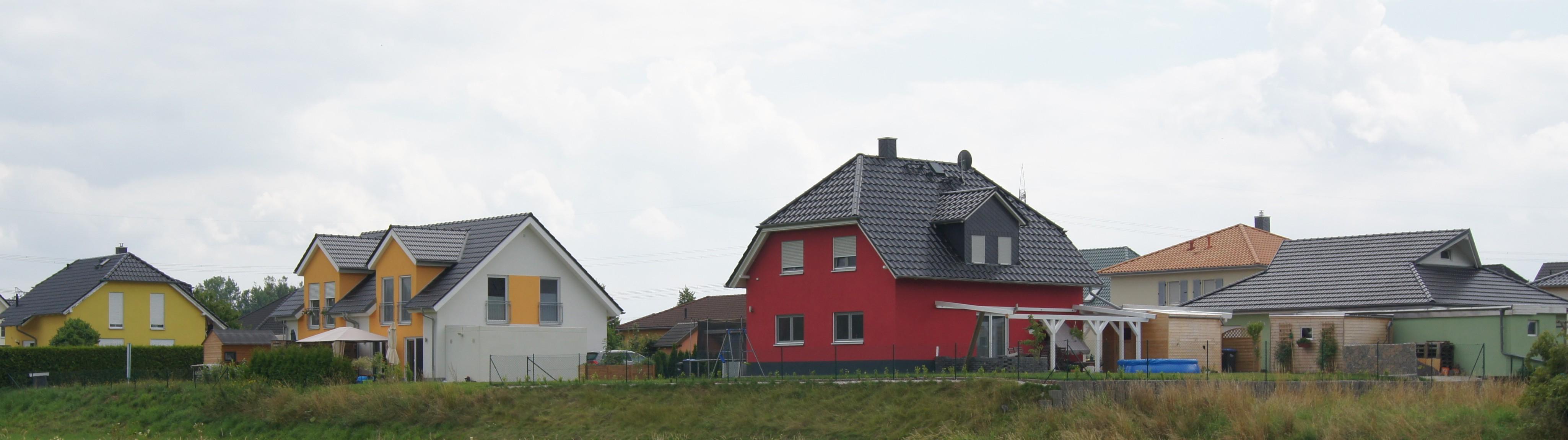 Einfamilienhäuser in Rötha
